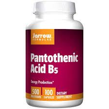 vitamin B5 pantotensyra Jarrow